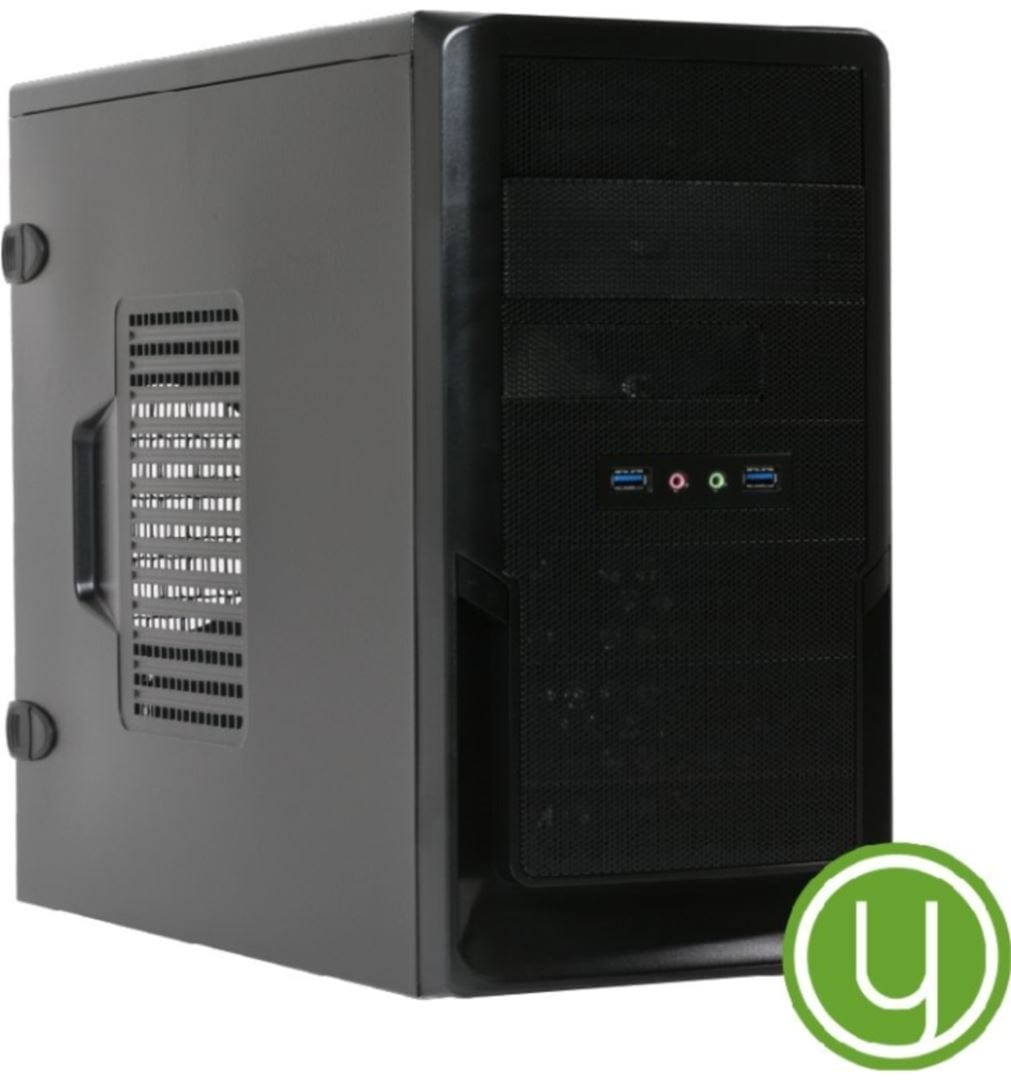 Yours Green Desktop- Intel G4900 / 4GB / 128GB SSD/ 1TB HDD