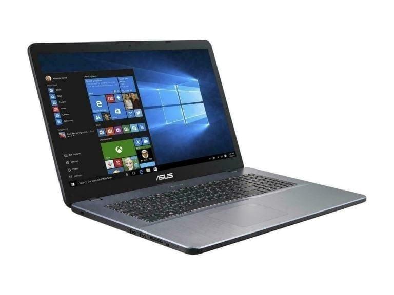 ASUS F705QA / 17.3 F-HD / A12-9720P / 8GB / 256GB SSD / W10 Pro