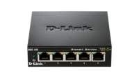 D-Link DGS-105 netwerk-switch Unmanaged Zwart