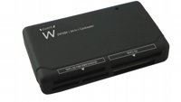 USB2.0 Card Reader All-in-One Black 64-in-1