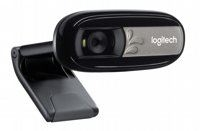 OUT Logitech Ret. Webcam C170( alleen beschadigde box)