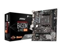 MSI B450M-A PRO MAX Socket AM4 micro ATX AMD B450