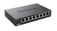 D-Link DGS-108 netwerk-switch Unmanaged Zwart