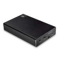 "Ewent EW7077 behuizing voor opslagstations 2.5"" HDD-/SSD-behuizing Zwart"