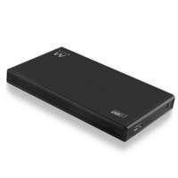 "Ewent 2.5"" SATA USB 3.0 HDD SSD behuizing, aluminium, USB Behuizing"