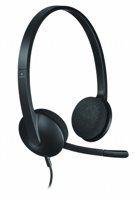 Logitech H340 Headset Hoofdband Zwart