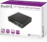 USB Card Reader internal black + extra two color front (high