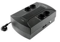 EnerGenie EG- -001 UPS Line-Interactive 650 VA 390 W 4 AC-uitgang(en)