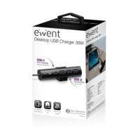 Ewent EW1317 oplader voor mobiele apparatuur Binnen Zwart