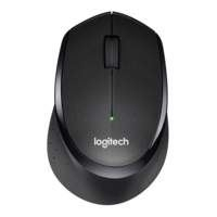 Logitech Ret. Wireless Mouse M330 Black Silent Plus
