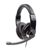Gembird MHS-001 hoofdtelefoon/headset Hoofdband Zwart