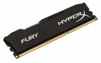 HyperX FURY Black 4GB 1600MHz DDR3 geheugenmodule