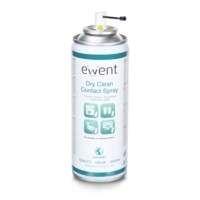 Ewent EW5614 computerreinigingskit Spray voor apparatuurreiniging Beeldschermen/Plastik, Universeel