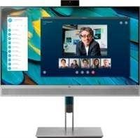 "HP EliteDisplay E243m 60,5 cm (23.8"") 1920 x 1080 Pixels Full HD LED Zwart, Zilver"