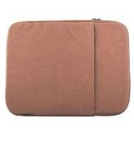 "Logic PLUSH notebooktas 35,6 cm (14"") Opbergmap/sleeve Bruin"