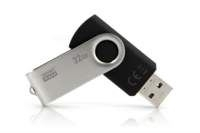 Goodram UTS3 USB flash drive 32 GB 3.0 (3.1 Gen 1) USB-Type-A-aansluiting Zwart