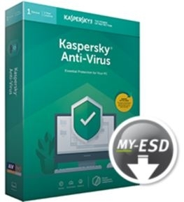 Kaspersky Kaspersky Anti-Virus 3-PC 2 jaar verlenging Software