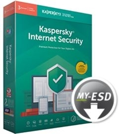 Kaspersky Internet Security 5Apparaten 1jaar 2019 VERLENGING