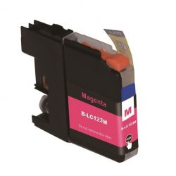 Second Life Brother LC 123 Magenta Inkt Cartridge