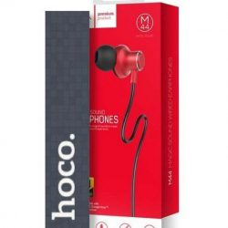 Hoco Magic Sound red wired earphones with microphone Oordopjes