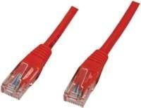 Kabel Cat5e UTP - 0.5m - Rood