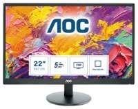 MON AOC E2270SWdN 21.5inch / LED / VGA / DVI / FULL-HD
