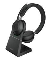 Jabra Evolve2 65, MS Stereo Headset Hoofdband USB Type-A Bluetooth Zwart
